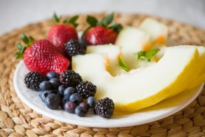 Intermittent Fasting - Fruit plate
